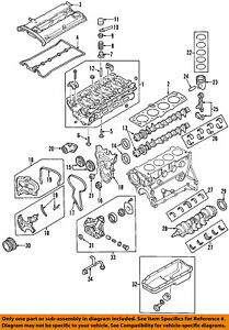 Chevrolet GM OEM 04-08 Aveo-Engine Crankshaft Crank Seal 96350161 | eBay | 2008 Chevy Aveo Engine Diagram |  | eBay