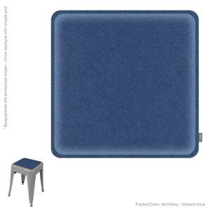 Eco-Filz-Stuhlkissen-gepolstert-Bankauflage-32x32cm-abgegrundete-Ecken