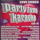 Love Songs 0610017109438 by Party Tyme Karaoke CD