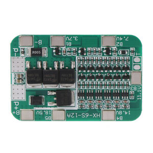 6S-15A-24V-Protection-PCB-Board-For-6-Packs-Li-ion-Lithium-18650-Battery-Cells