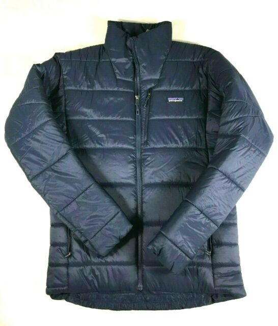 New with Tags Patagonia Mens Medium Navy Blue Hyper Puff Insulated Jacket  $250