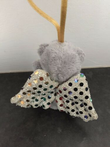 SEQUIN WINGS RARE ME TO YOU SOFT TATTY TEDDY BEAR XMAS TREE HANGING DECORATION