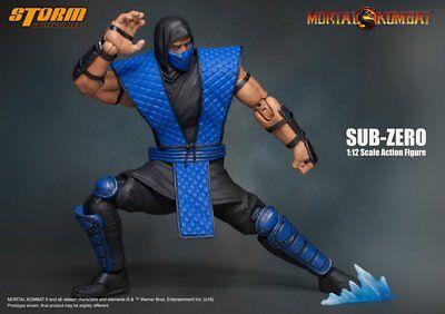 Storm Collectibles Mortal Kombat Sub Zero 1:12 Scale Action Figure