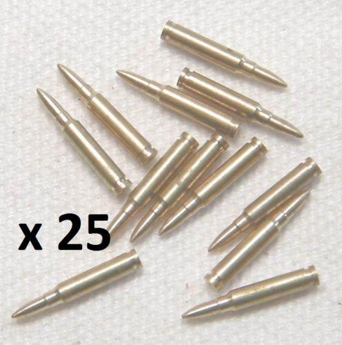 324 A1 25 cartouches WWII 1//6 Battle Gear Toys Cartouches Fusil Garand