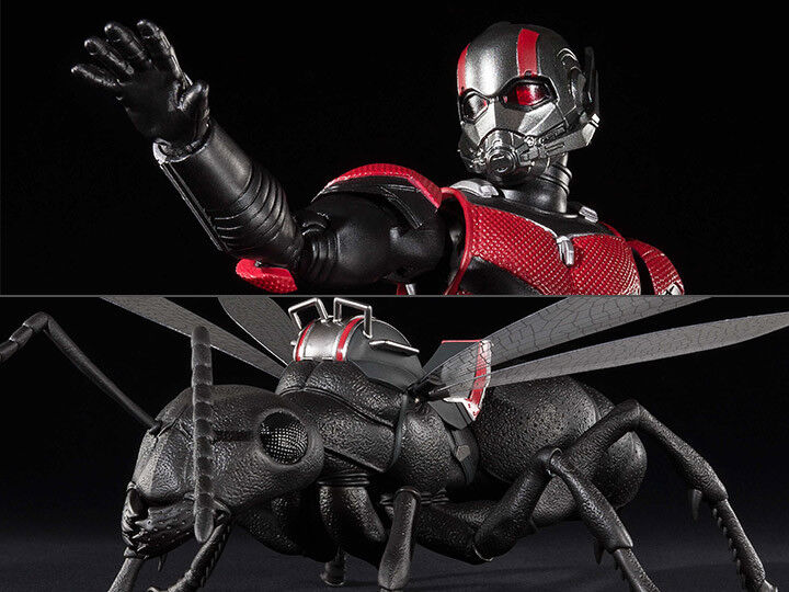 Bandai Ant-Man and the Wasp S.H.Figuarts Ant-Man & Ant Set - Premium 2018