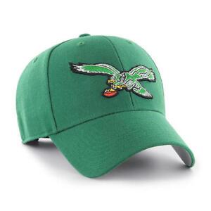 new style 269f0 7f629 Image is loading Philadelphia-eagles-47-Brand-Frost-MVP-Adjustable-Hat-