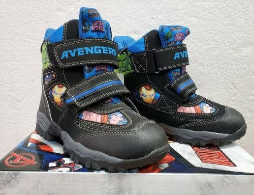 Marvel Kids Boys High Top Shoes Sneakers Europe Size 30 //U.S Size 12.5-13