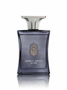 Arabian Knight Silver 100ml by Arabian Oud - Geranium, Musk, Amber Perfume Spray