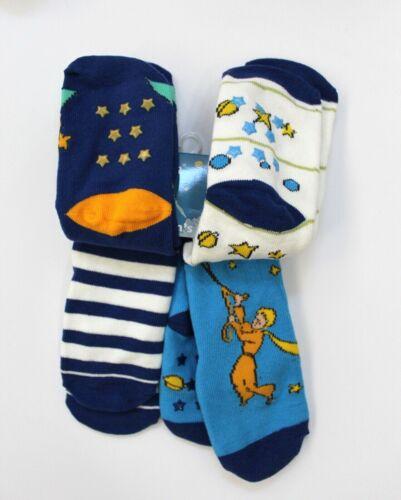 4 Pairs Le Petit Prince Children/'s Socks Size 2T-3T