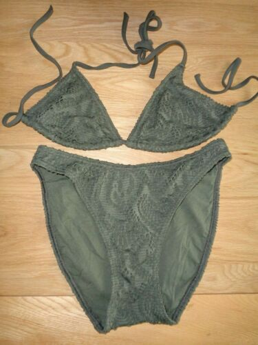 taille 10 Bikini Kaki NEUF *