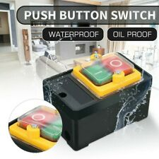 New Listingkao 5h Ac 220v380v 10a Onoff Water Proof Machine Drill Push Button Switch