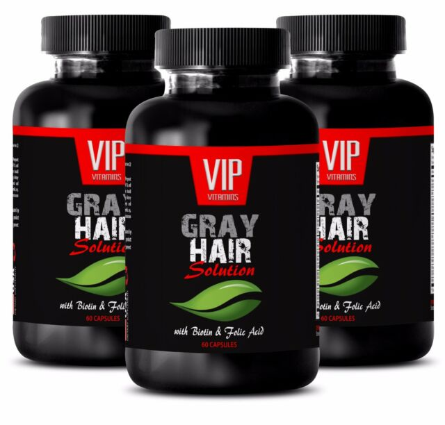 Hair growth- GRAY HAIR SOLUTION-DIETARY SUPPLEMENT - Saw Palmetto berry -180 C
