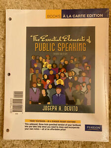 The Essential Elements of Public Speaking, Third Edition ...