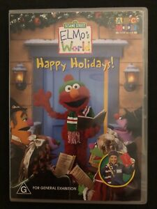 Sesame-Street-Elmo-039-s-World-Happy-Holidays-DVD-Region-4-Free-Oz-Postage