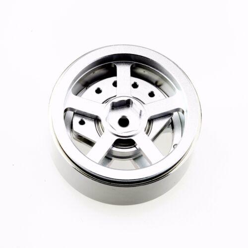 "ALIENTAC Four 1.9/"" Alloy Beadlock Wheel Rim w// Balance Weight for RC Model #039"