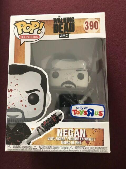Funko Pop # 390 Negan Walking Dead Barnes Noble Exclusive Good Box