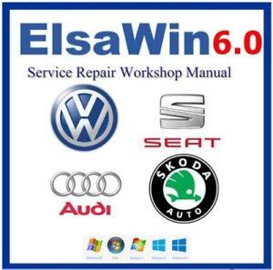2017 ElsaWIN60 Workshop Service amp Repair Manual FOR VW SKODA AUD1 SEAT VEHICLES - Altrincham, United Kingdom - 2017 ElsaWIN60 Workshop Service amp Repair Manual FOR VW SKODA AUD1 SEAT VEHICLES - Altrincham, United Kingdom