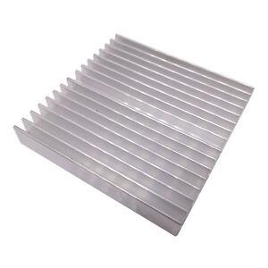 US Stock 10pcs 25 x 25 x 5mm Heat Sink Cooling Aluminum Heatsink CPU IC LED
