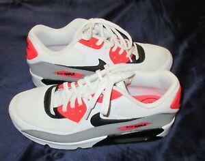 Plano Esencialmente equipaje  Nike Air Max Talla 8 Correr Tenis de Moda de Mujer Rojo Negro Blanco Encaje  Athletic   eBay