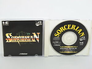SORCERIAN-PC-Engine-SCD-PCE-Grafx-Japan-Game-pe