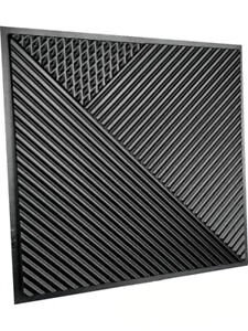 ABC Plastic Press Mold Production of 3d Panels Wall Art Decor Fields