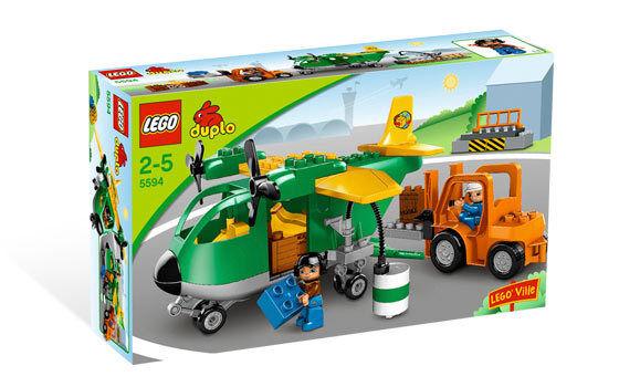 Brandneu Lego Duplo 5594 Fracht Flugzeug