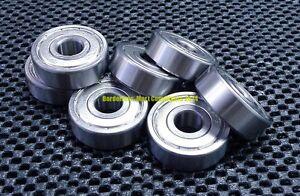 Metal Double Shielded Ball Bearing Bearings 10*19*5 10 Pcs 6800ZZ 10x19x5mm