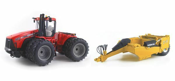 First Gear 1 50 Scale CASE IH Steiger 485HD Tracteur Modèle   BN   Combo 1