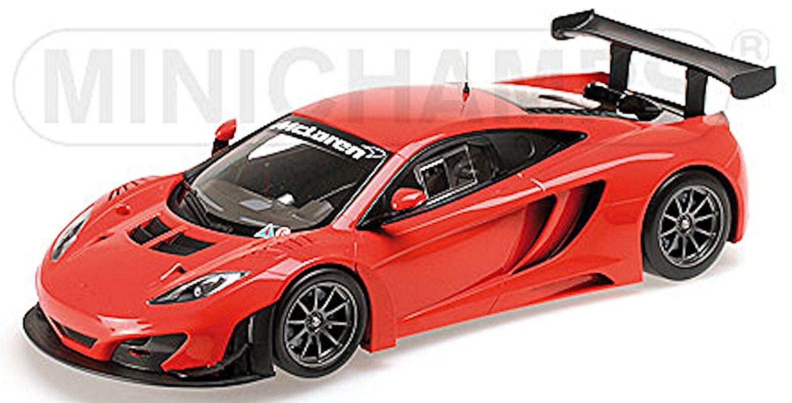 McLaren 12 C gt3 2013 Street Car Rouge rouge 1 18 Minichamps