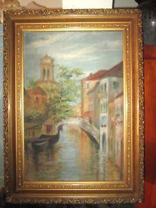 1920-039-s-Virginia-Sanderson-Painting-034-Venice-034-signed