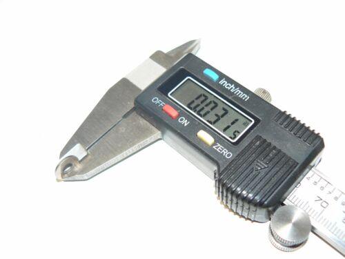 "X .376/"" OD X .031/"" Thick .149/"" ID Nickel Plated Bass Flat Washers-200 Pcs."