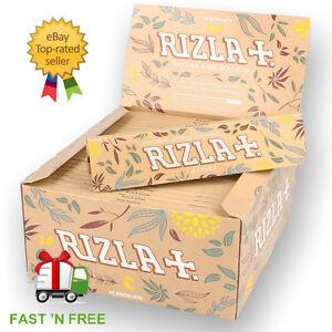 Genuine-RIZLA-NATURA-Kingsize-Slim-Rolling-Papers-Natural-Organic-Rizzla-Hemp