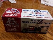 Big A Auto Parts 1929 Model A Wrecker Truck Liberty Classics Spec Cast Coin Bank