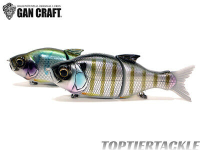 Gan Craft Jointed Claw 148 Slow Sink Glide Swimbait Select Color
