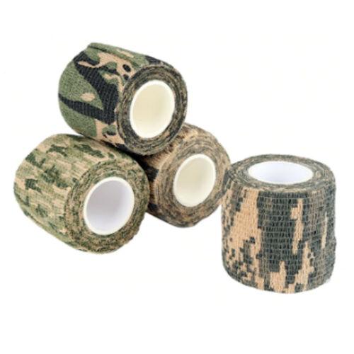 DMC Camouflage Reusable Rifle Gun Sniper Camo Tape Wrap Airsoft Hunting Camera