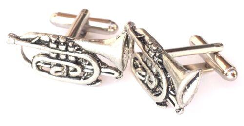 Corneta N268 instrumento musical Gemelos Peltre Hechos a mano