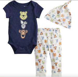 Winnie The Pooh Baby-Boys Overalls top