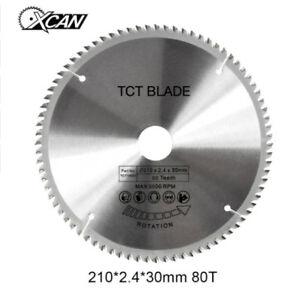 210mm-80T-30mm-TCT-Sageblatt-Kreissagenblatt-Durchmesser-Kreis-Sage-Blatt-Neu-DE
