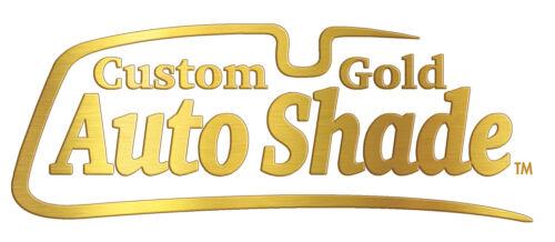 GOLD Custom Fit Sun Shade Ford F-150 2015-2019 W//SENSOR Heat Shield FD-902A-G