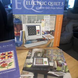 Electric Quilt 5 Complete Quilt Design Software Complete 1 Cd 3 Books Ebay