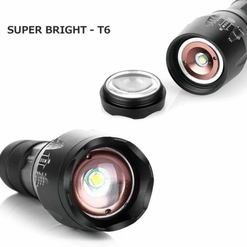 90000lm Ultrafire G700 CREE LED Tactical Flashlight Military Torch Headlamp *