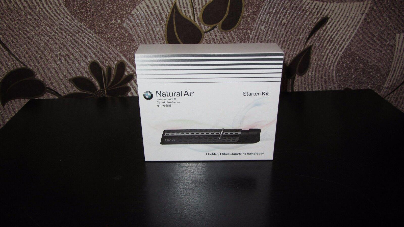 Bmw Natural Air Car Freshener Holder 1 Fragrance Starter Kit