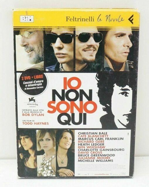 IO NON SONO QUI un film di Todd Haynes DVD + Libro con Custodia