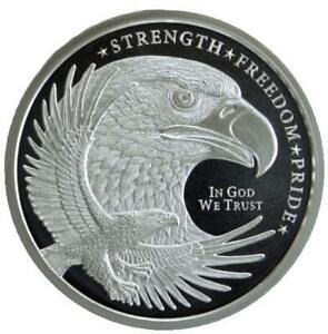 Silver-Eagle-1oz-999-Silver-Bullion-Round-Golden-State-Mint