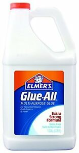 Elmers Glue All White Adhesive in Bulk, Multi Purpose Non Toxic 1 gal Bestseller