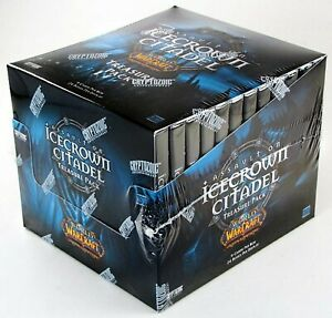 WoW-Warcraft-TCG-Icecrown-Citadel-Treasure-Pack-Box-24-Factory-Sealed