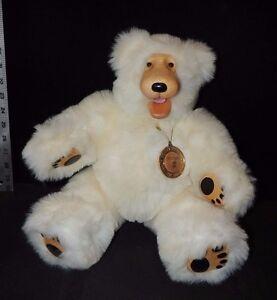 "Blizzard"" 15"" Plush Polar Bear by Robert Raikes"