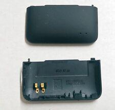 HTC EVO Design 4G OEM Original Battery Door Back Cover - Black - No Logo
