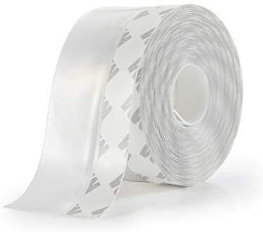 16.5ft Weather Stripping Door Seal Strip Self Adhesive Silicone Bottom Stopper