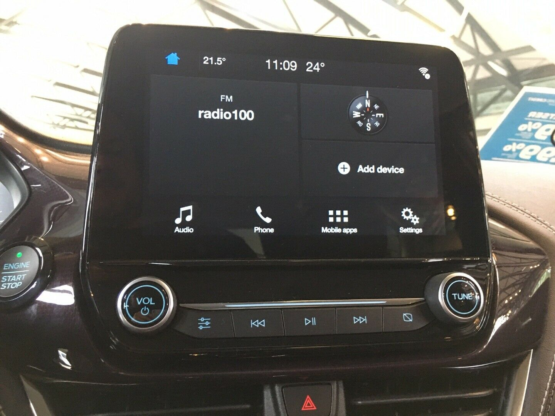 Ford Fiesta 1,0 SCTi 140 Vignale - billede 9